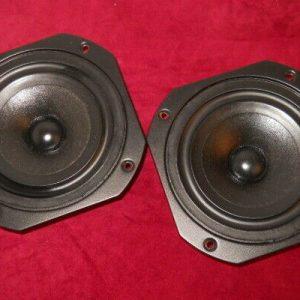 """2x KEF SP1095 6.5"""" Tieftöner KEF B160 Bass speakers"""