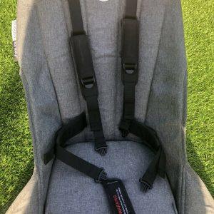 Bugsboo Donkey 2 Grey Melange Seat Fabric