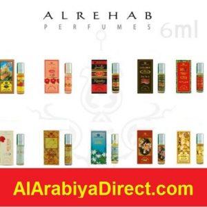 Choice of Al Rehab 6ml Attars Perfumes Oils Itr Roll On Alcohol Free Arabian