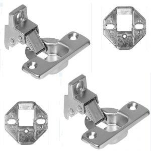 Decor Cupboard Door Hinge Kit For Whirlpool Integrated Built In Washing Machines