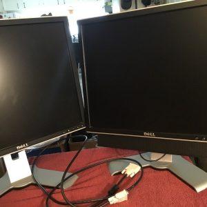 """Dell 1907 FP Computer Monitors 19"""""""