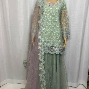 EID SALE!! Latest fashion Pakistani style suit from original tawakkal Collection