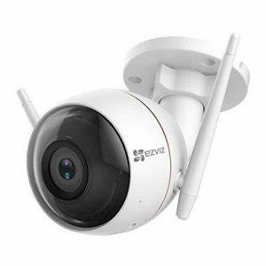 EZVIZ Outdoor Security Camera WiFi Surveillance, 30m Night Vision, Light & Siren