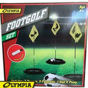 Footgolf Football Golf Training Equipment Outdoor Garden Sports Games Set