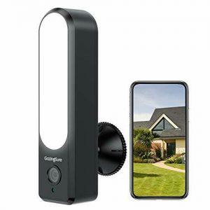 GazingSure Security Camera Outdoor - 1080P FHD Floodlight Cam WiFi CCTV