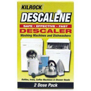 KILROCK DESCALENE Descaler 2x50g - Washing Machines - Dishwashers Kettles Irons