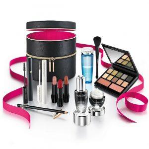Lancome Parisian Holiday Case Blockbuster Makeup Gift Set 11 Full Size Product