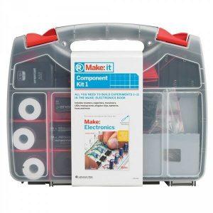Make Electronics 1st ed Book or RadioShack Make:IT Component Pack/Kit 1 or 2