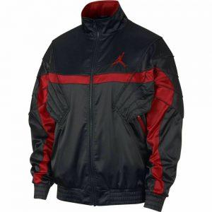 "Men's Air Jordan Sport swear AJ5 ""Saint"" Jacket Casual Fashion Black AR3130 010"