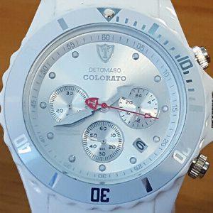 Mens Ladies Unisex DeTomaso Colorato Comfy Wear Chrono & Date Diver Sports Watch