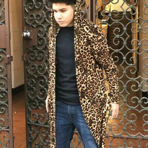 Men's Leopard Fashion Hoodie