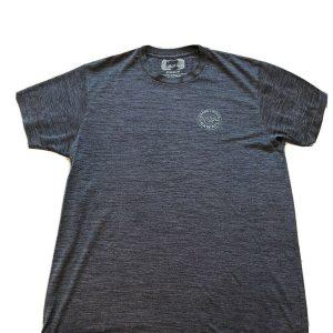 Men's Medium Gray T-Shirt Hang Loose Shaka Brah Sun Protective Apparel