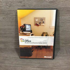 Microsoft Office Student & Teacher Edition 2003 w/ PRODUCT KEY & MANUAL