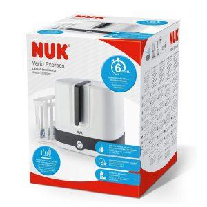 NUK Vario Express Steam Steriliser Baby Bottle Cleaning