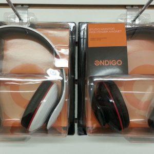 Ondigo DX100 DJ-Style Stereo Hands-Free Headphones- 3.5mm- White