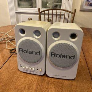 ROLAND MA-8 pair speakers -CLASSIC