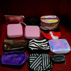 Random makeup Bags NO PRODUCTS lot of 24