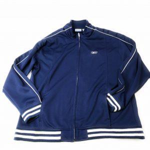 Reebok Sports Wear Zip Up Jacket Mens Size XL Blue