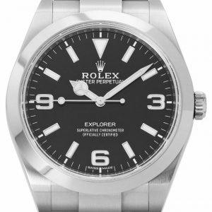 Rolex Explorer 214270 Stahl Automatik Uhr, 2019