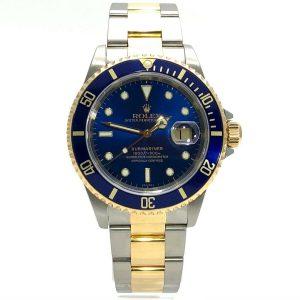 Rolex Submariner Date Edelstahl / Gelbgold Ref. 16613 aus 1999 LC100