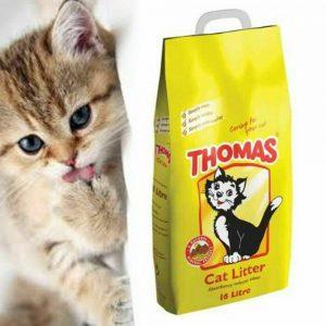 Thomas Cat Litter Pet Supplies Natural Mineral Cat Litter Hygiene 16L