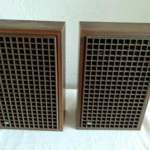 Vintage Dual Speakers