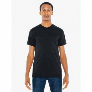 American Apparel Tee Shirt Fine Jersey 100% Cotton Crew Neck T-Shirt 2001