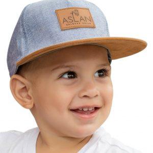 Aslan Original Baby Snapback Hat Design Fashion Cap for Babies 7 Months - 2 Year