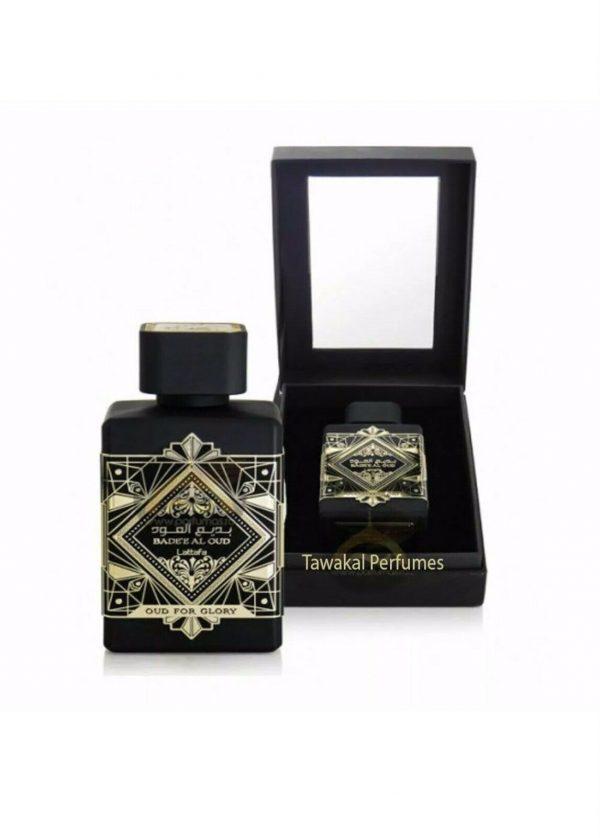 Badee Al Oud (Oud for Glory) Unisex Spray Scent Fragrance Lattafa Perfumes 100ml
