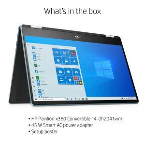 """Brand New Seal All-in-one HP 14"""" HD X360,i5 8GB 256GB SSD Windows10 14-dh2041wm"""
