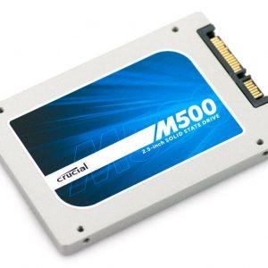 Crucial M500 2.5in 500GB SSD for PC, Laptop, MAC & Internal+External Storage