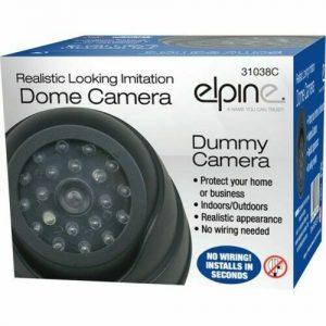 DUMMY DOME CCTV CAMERA SECURITY INDOOR OUTDOOR FAKE