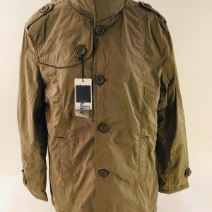 Deere Men's Fashion Coat Size Medium Tan/Taupe