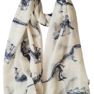 Dinosaurs Print Scarf GlamLondon Women's Latest Fashion Wrap