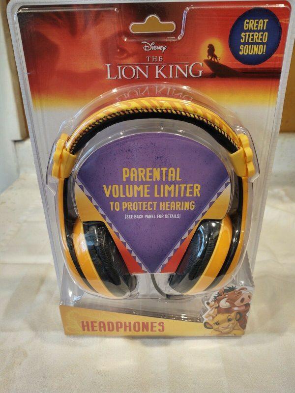 Disney Lion King Headphones Volume Limiter New Free Shipping