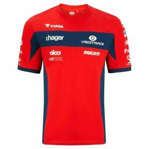 Ducati Visiontrack Superbike Team T Shirt NEW 2020 Season Official Apparel