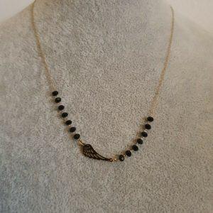 Gold Necklace celebrity STAINLESS STEEL - Celebrytka