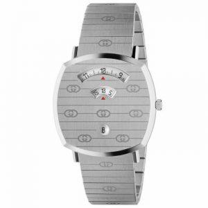 Gucci YA157410 Grip 35MM Unisex Stainless Steel Watch