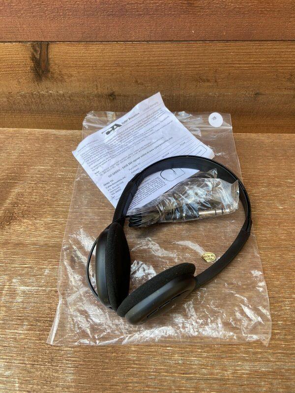 Headphones (Cyber Acoustics)