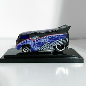 Hot Wheels Liberty Promotions Halloween Black Widow VW Drag Bus #0479/1000 New