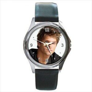 Keegan Allen leather strap  watch  /wristwatch