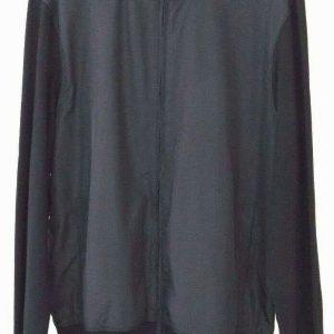 MICHAEL Michael Kors Men's Full Zip Black Fashion Track Jacket Size L. NWT $110