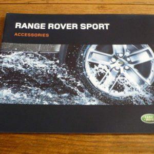 RANGE ROVER  SPORT ACCESSORIES BROCHURE 2005/06