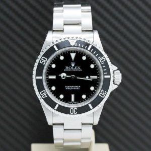 Rolex Submariner No Date Stahl Ref:14060 - Rolex Box von 2001