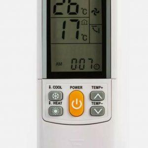 SUPERIOR AirCo PLUS Univeral Remote Control for Air Conditioners - 2000 Codes!