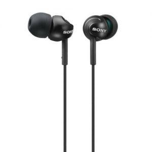 Sony MDR-EX110LPB Black Stereo In-ear Earbud EX Series Headphones Earphones New