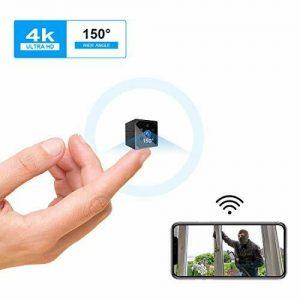 Spy Camera,KEAN 4K HD Mini WiFi Wireless Hidden Camera Smallest Security Cameras