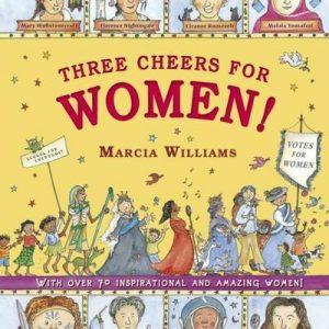 THREE CHEERS FOR WOMEN BN WILLIAMS MARCIA WALKER BOOKS LTD HARDBACK