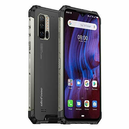 Ulefone Armor 7E Rugged Smartphones 4G Dual SIM Unlocked, 4GB RAM 128GB ROM 2TB
