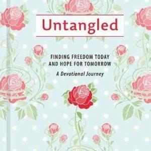 Untangled: Devotional Journey for Women by Jen Baker Book The Cheap Fast Free